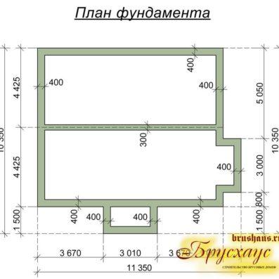 """Проект дома из бруса 10х11 №Б-37 - """"Ногинск"""""""