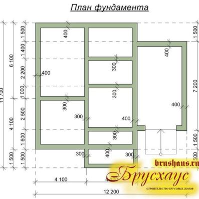 """Проект дома из бруса 11,5х12 №Б-49 - """"Иваново"""""""