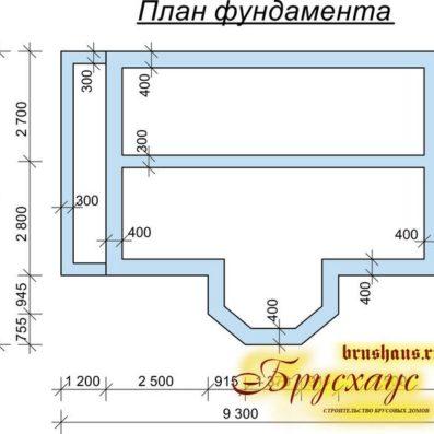 """Проект дома из бруса 7х9 №Б-54 - """"Столичный"""""""